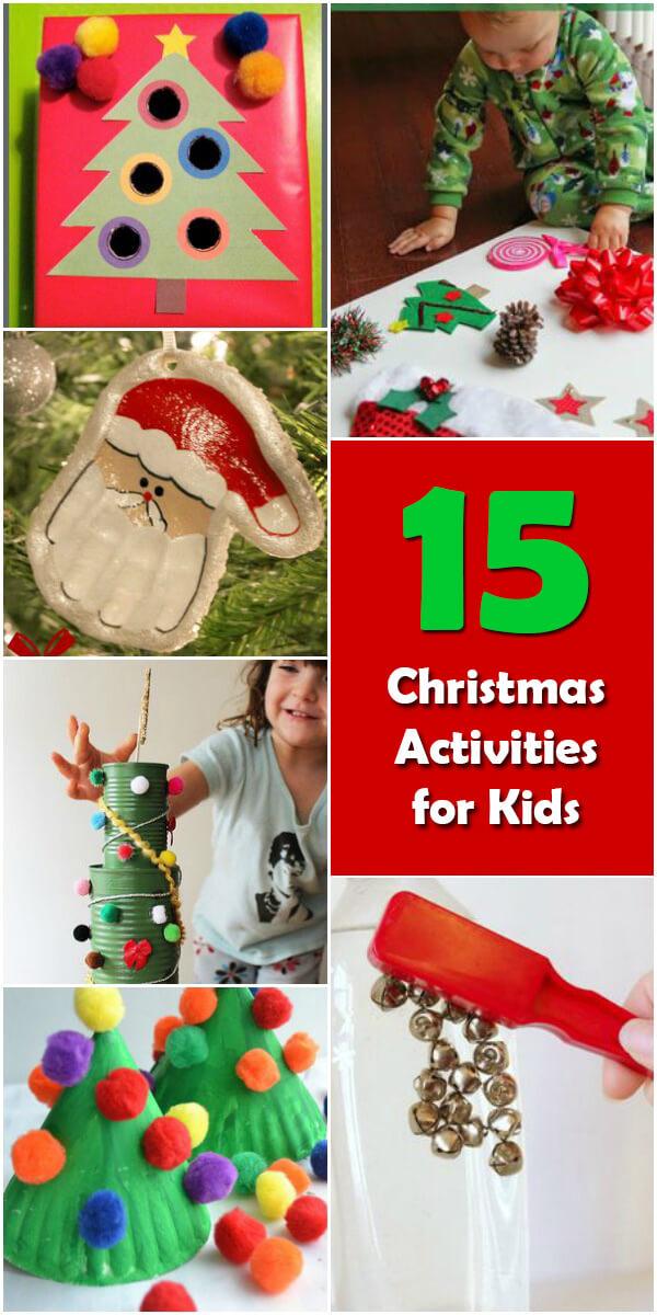 15 Fun Christmas Activities for Kids