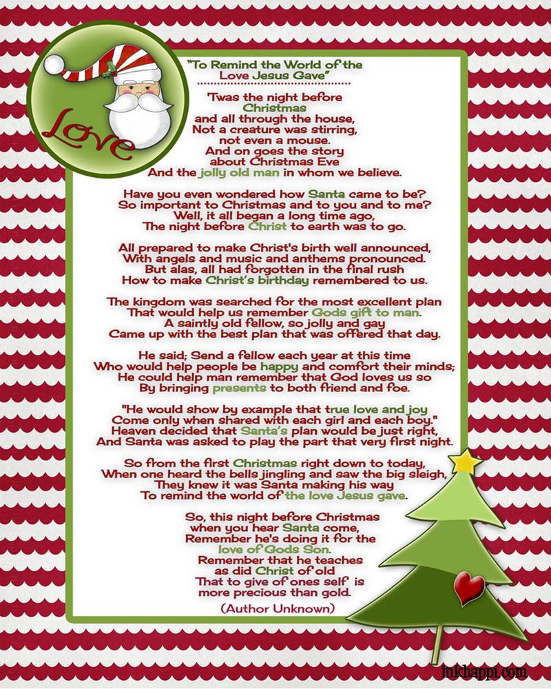 15 Festive Christmas Poems - Holiday Vault