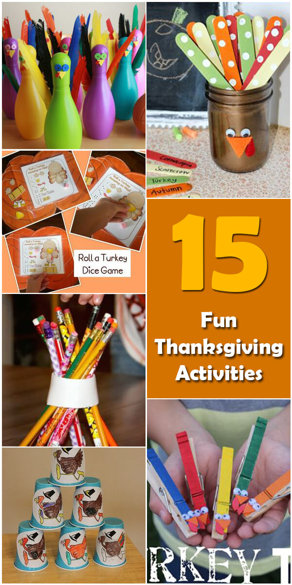 15 Fun Thanksgiving Activities for Kids