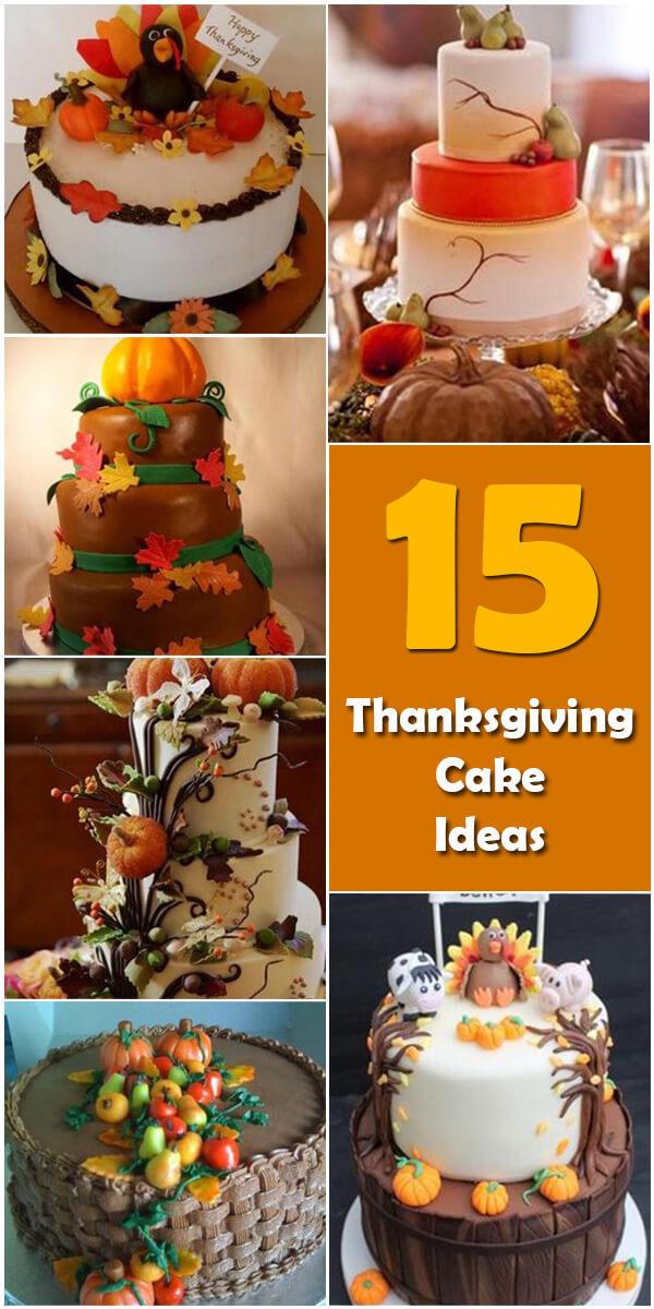 15 Nifty Thanksgiving Cake Ideas