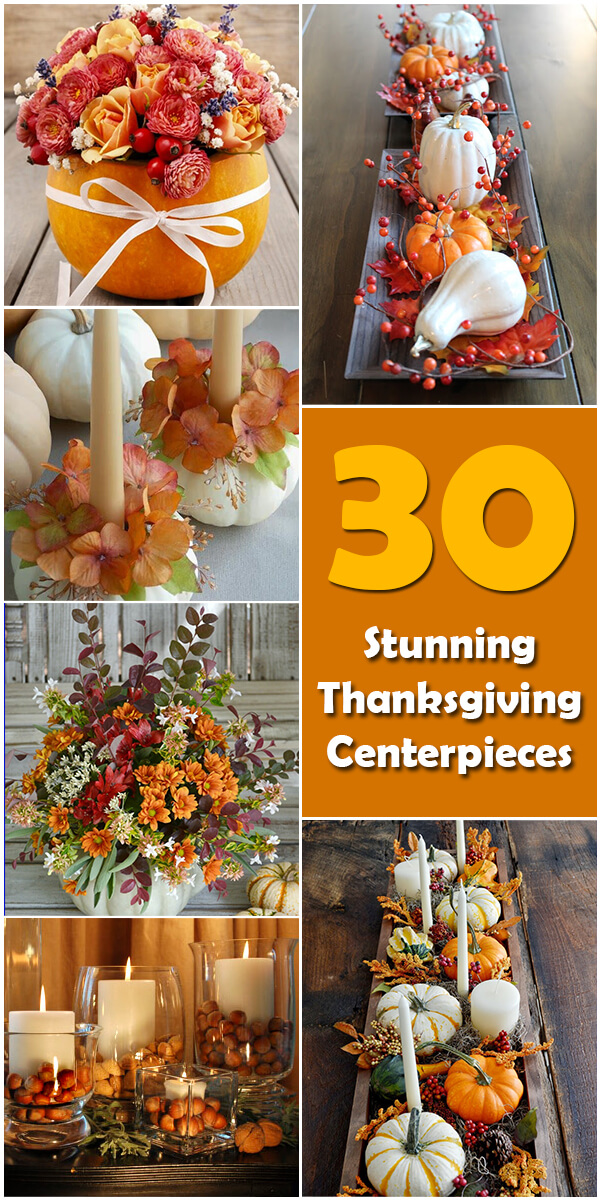 30 Stunning Thanksgiving Centerpieces