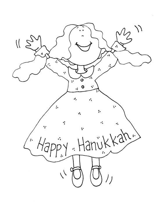 18 printable hanukkah coloring pages