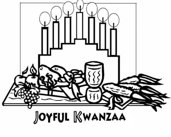 15 Printable Kwanzaa Coloring Pages - Holiday Vault