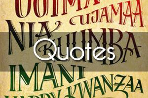Kwanzaa Quotes