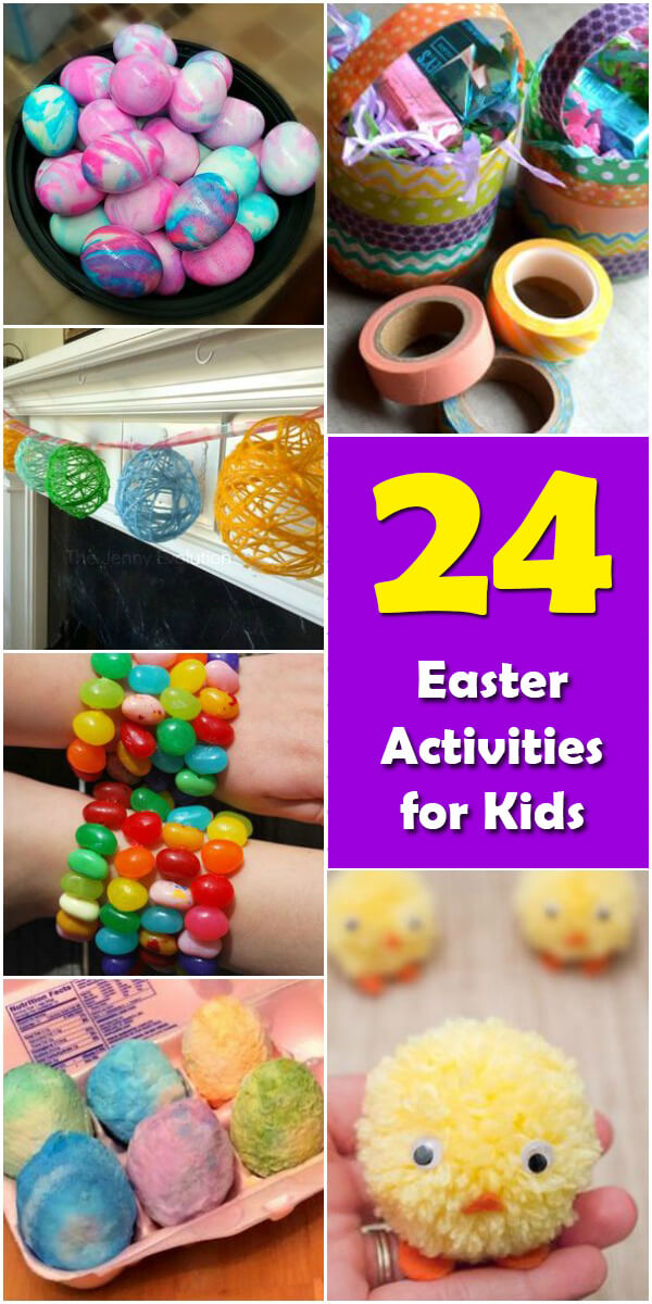 24 Fun Easter Activities for Kids