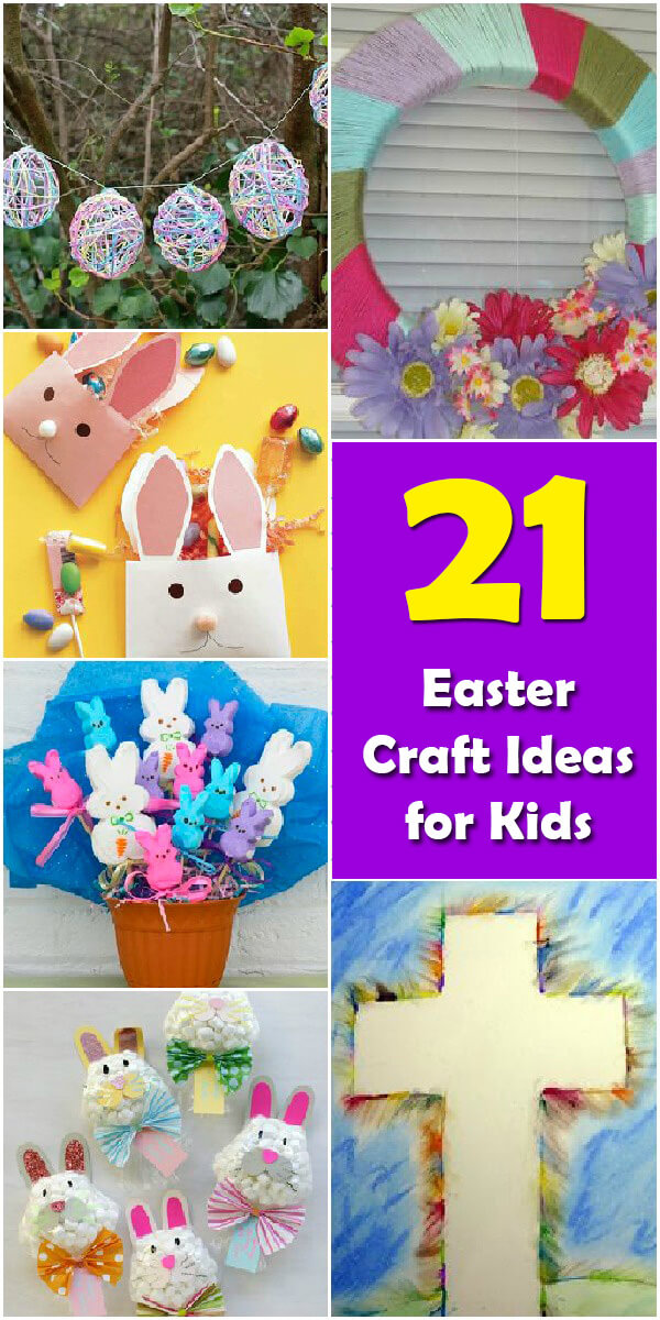 21 Fun Easter Crafts for Kids