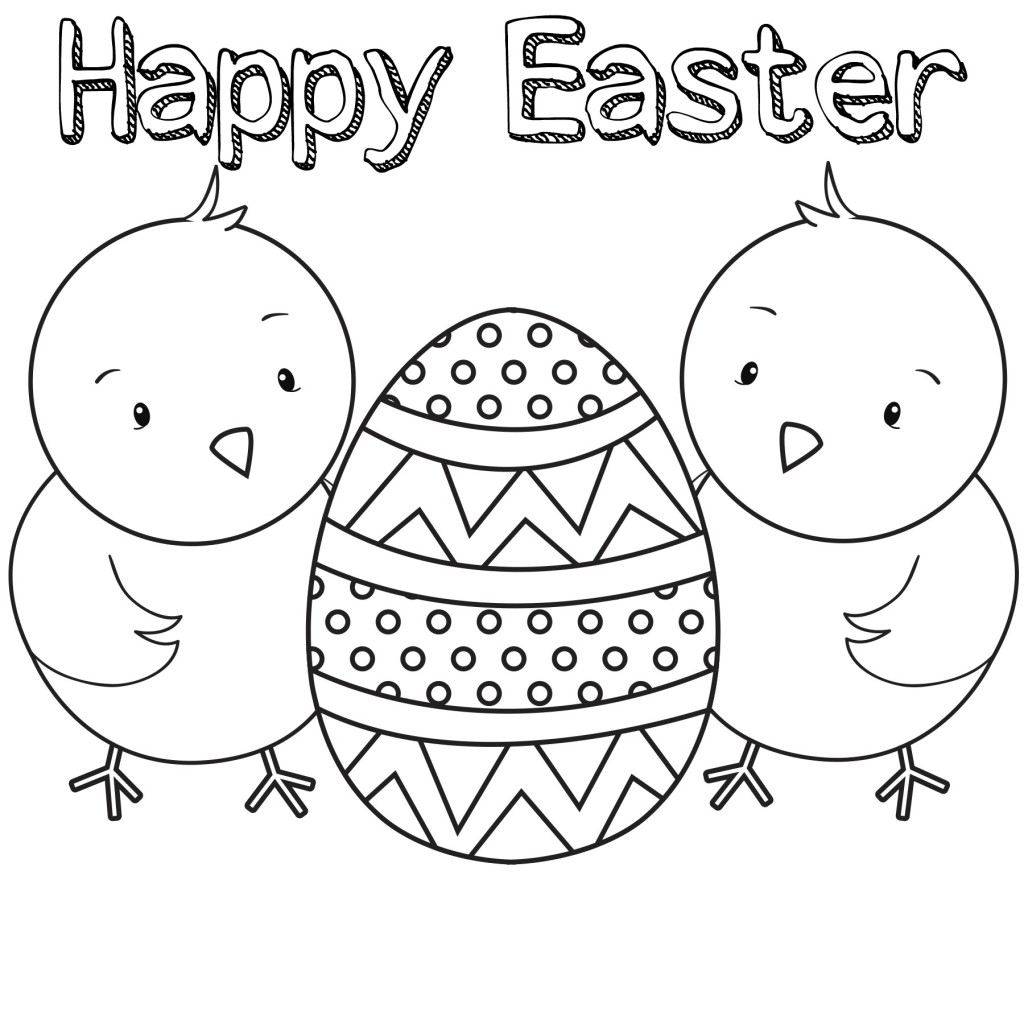 15 Printable Easter Coloring Pages