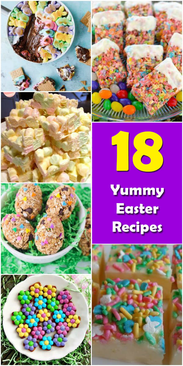 18 Yummy Easter Recipes