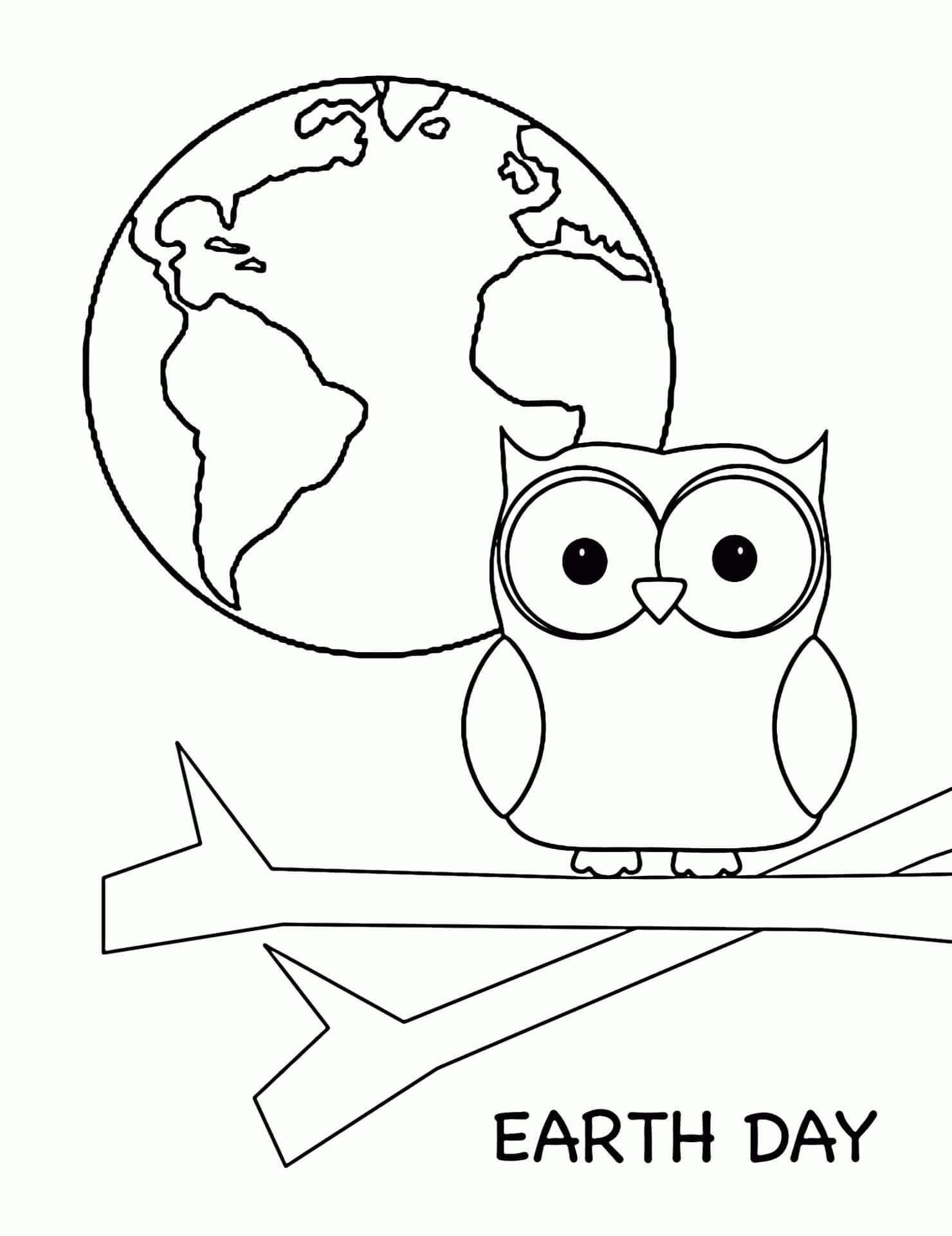 21 Printable Earth Day Coloring