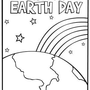 21 Printable Earth Day Coloring Pages