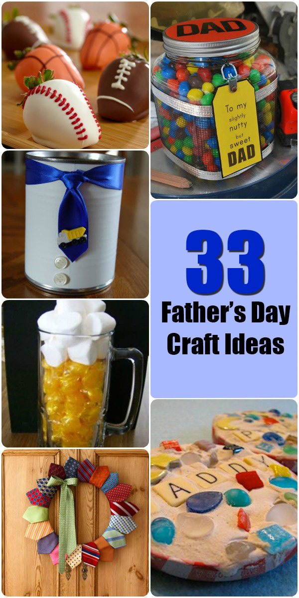 33 Father's Day Craft Ideas