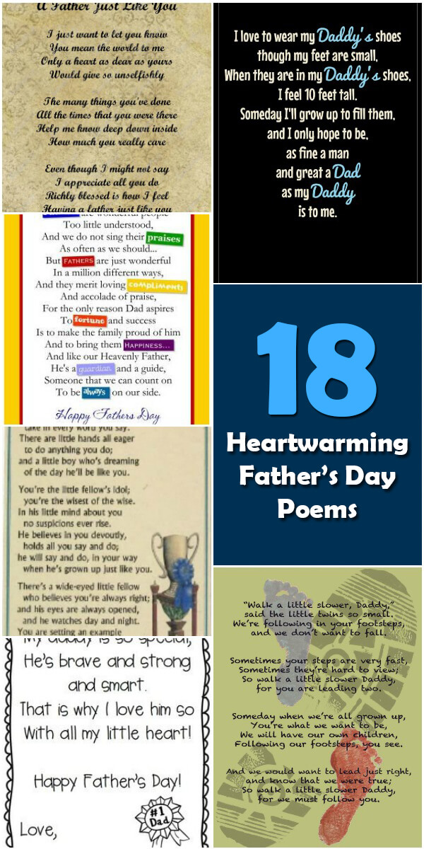 18 Heartwarming Father's Day Poems