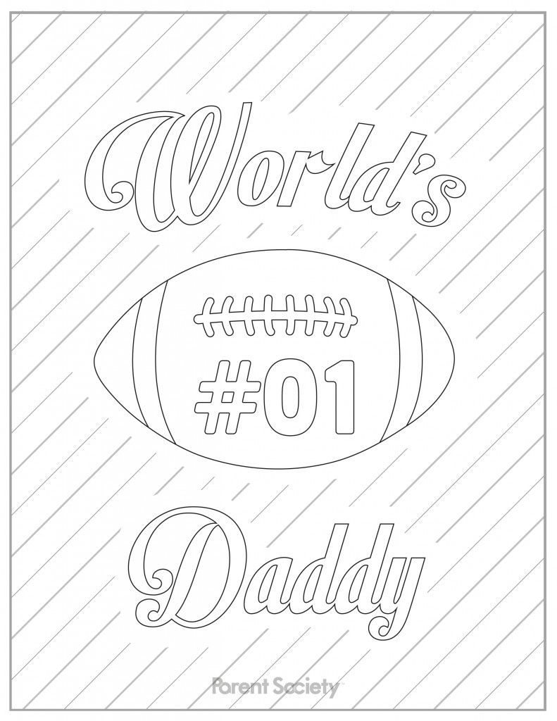 15 Printable Father 39 s Day Coloring