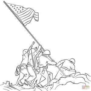 12 Veteran's Day Coloring Pages - Holiday Vault