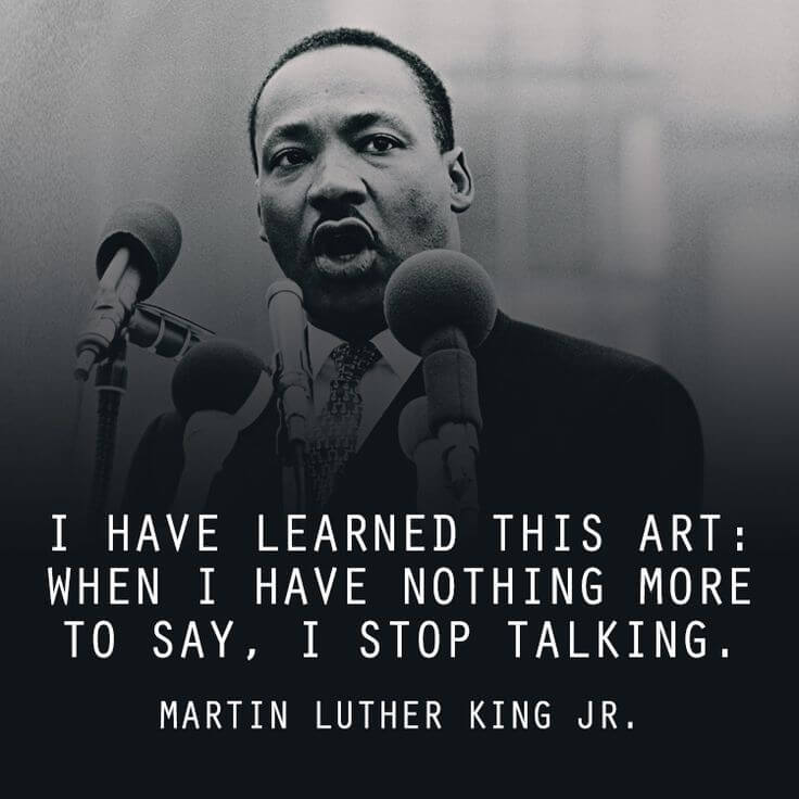 martin luther king jr inspired all to rise above Martin luther king jr's name was originally michael king jr but he was renamed to martin luther king jr in homage to the german theologian martin luther we must build dikes of courage to hold back the flood of fear.