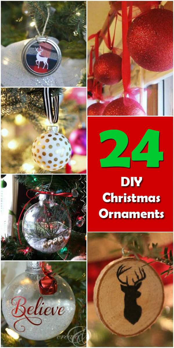 24 Dazzling DIY Christmas Ornaments