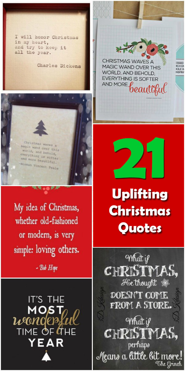 21 Fun and Uplifting Christmas Quotes