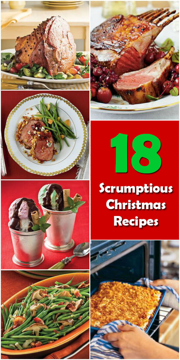 18 Scrumptious Christmas Recipes