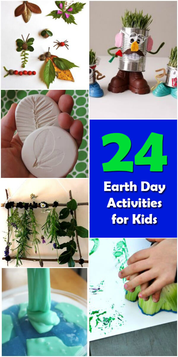 24 Fun #EarthDay Activities for Kids - Holiday Vault