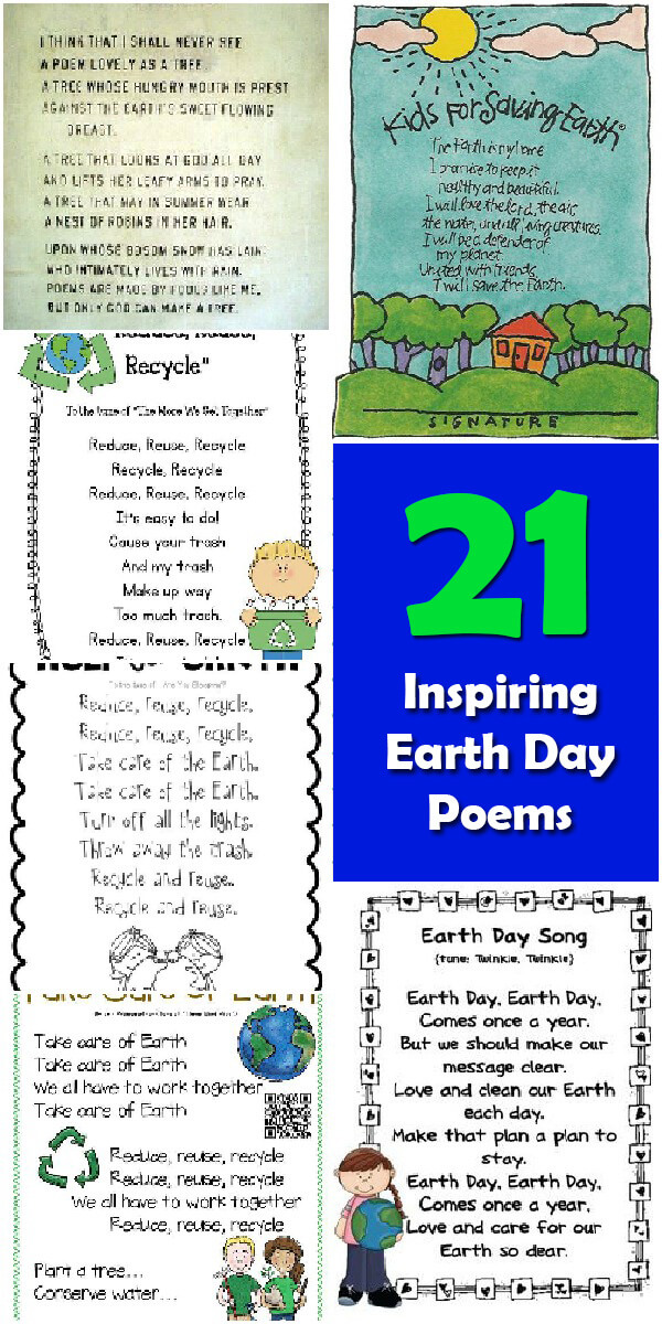 21 Inspiring #EarthDay Poems - Holiday Vault