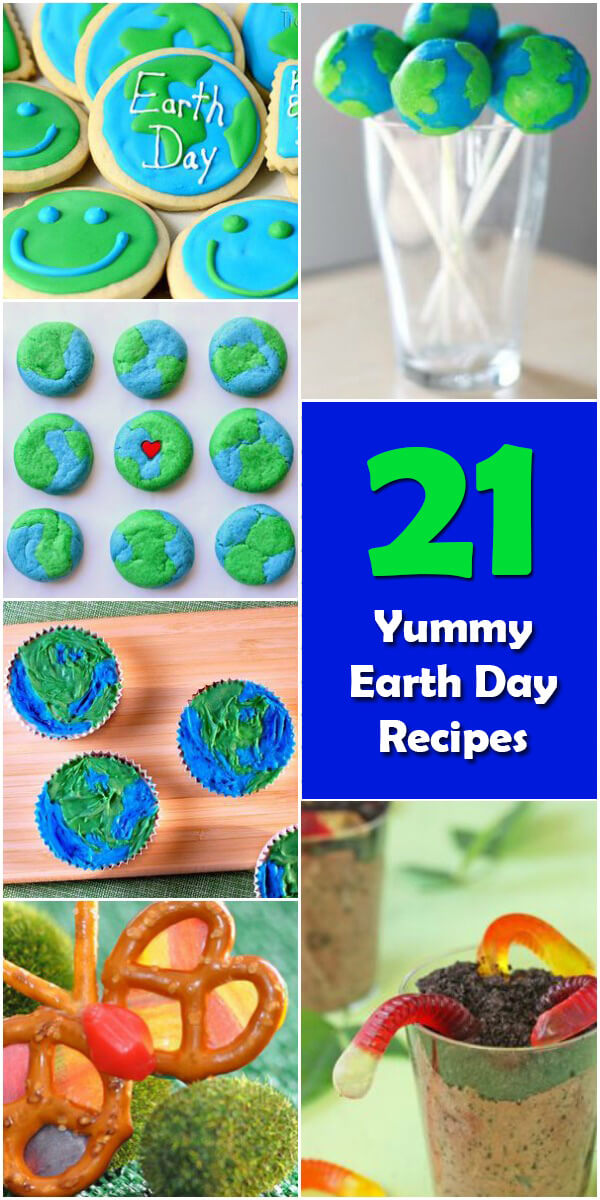 21 Yummy #EarthDay Recipes - Holiday Vault