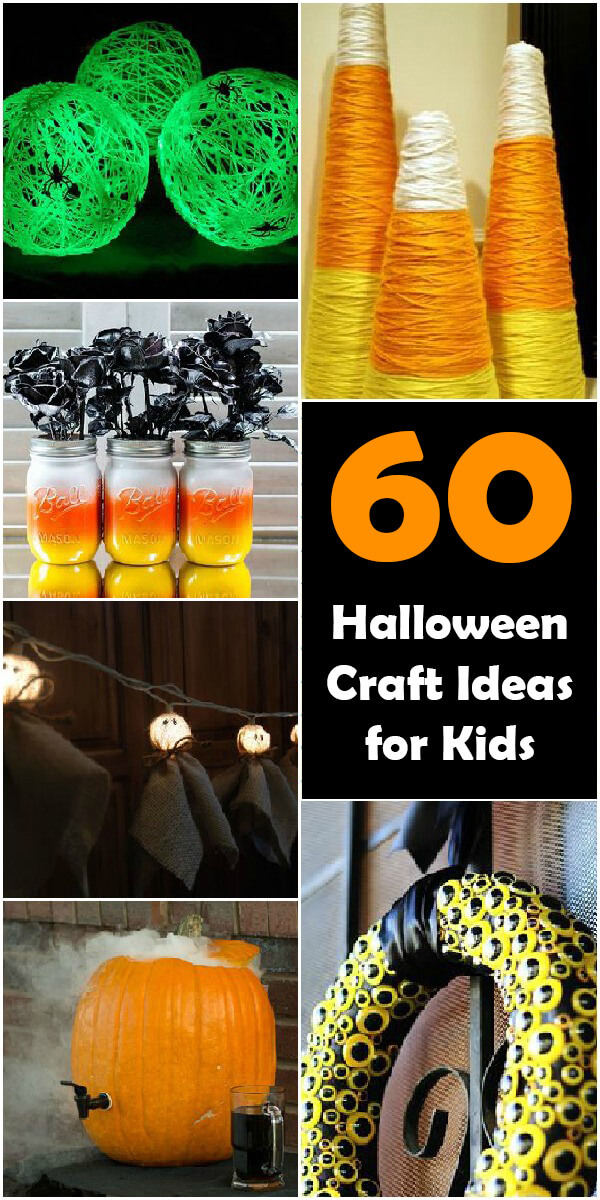 60 Halloween Craft Ideas for Kids