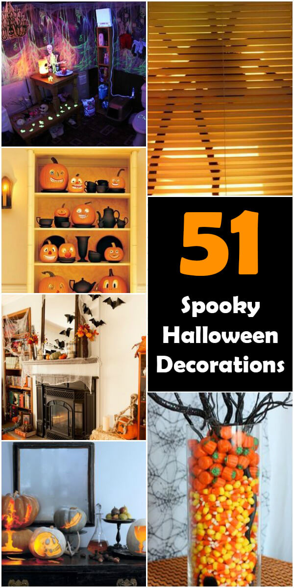 51 Spooky DIY Halloween Decorations