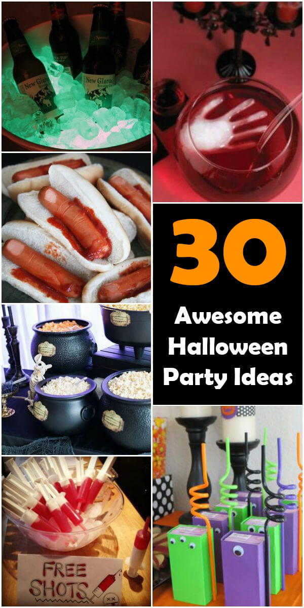 30 Awesome Halloween Party Ideas