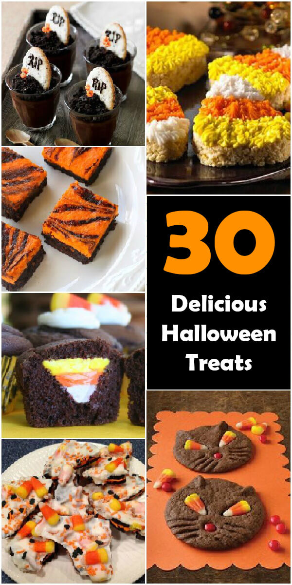 30 Dreadful (and Delicious) Halloween Treats