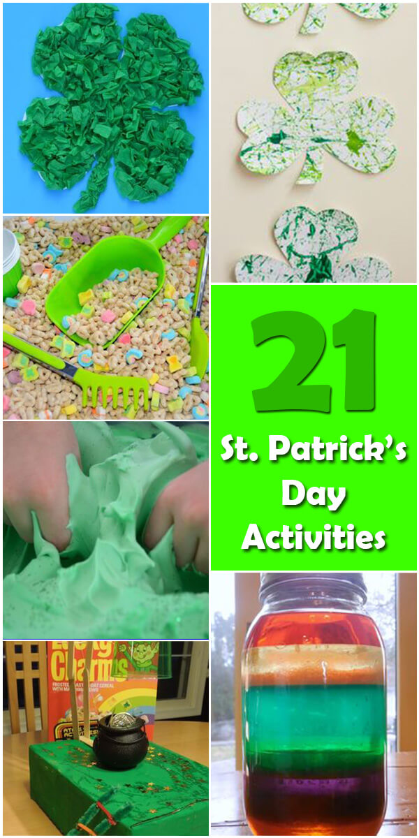 21 Fun St. Patrick's Day Activities for Kids