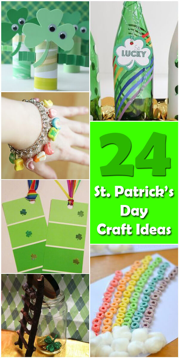 24 Fun St. Patrick's Day Crafts for Kids