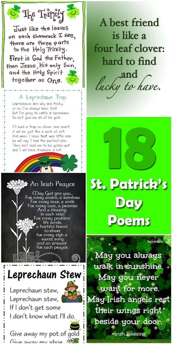 18 Merry St. Patrick's Day Poems