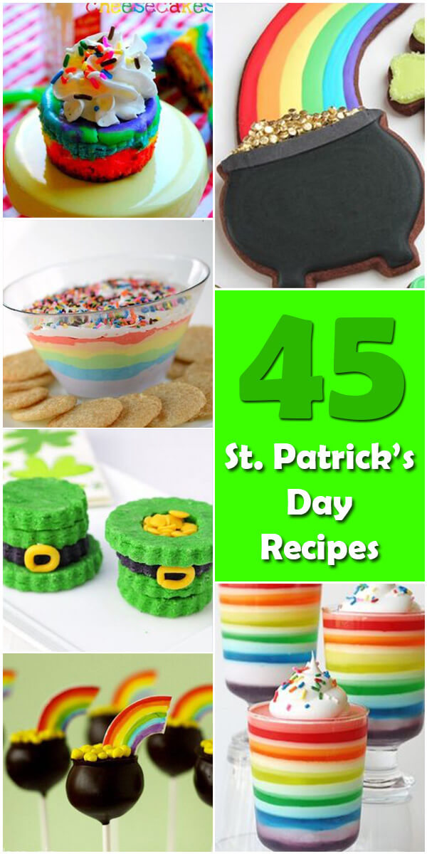 45 Delightful St. Patrick's Day Recipes