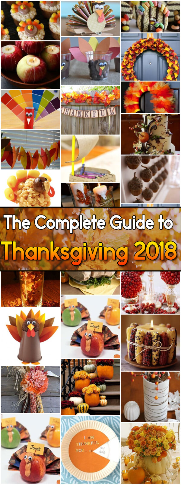 The Complete Guide to #Thanksgiving 2018 - Holiday Vault