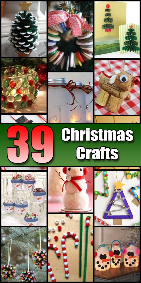 39 Fun Christmas Crafts for Kids - Holiday Vault