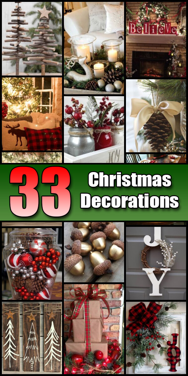 33 Very Merry Christmas Decorations - Holiday Vault