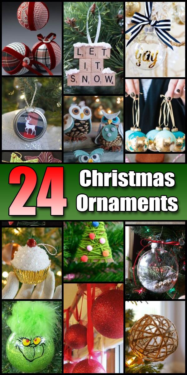 24 Dazzling DIY Christmas Ornaments - Holiday Vault