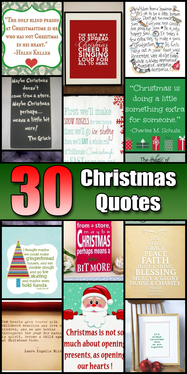 21 Fun and Uplifting Christmas Quotes - Holiday Vault