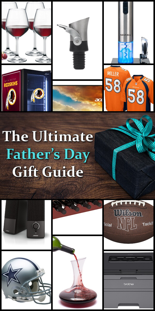 The Ultimate Father's Day Gift Guide - Holiday Vault #FathersDay