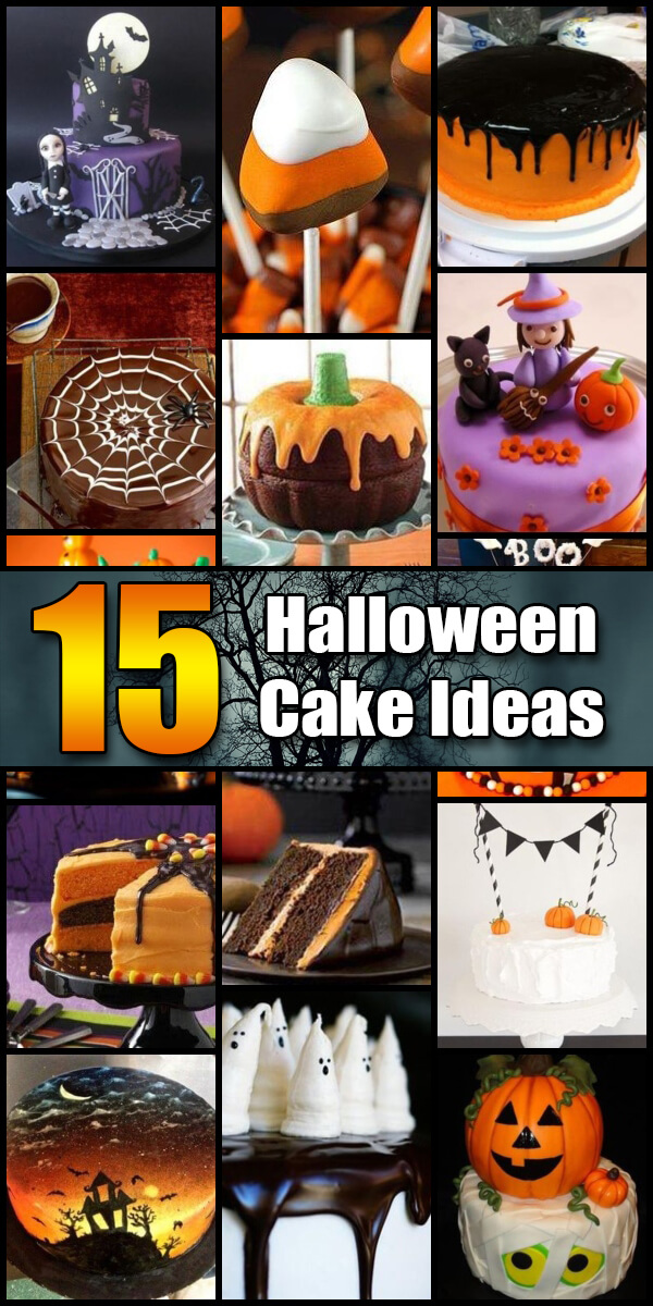 15 Frightful Halloween Cake Ideas - Holiday Vault #Halloween