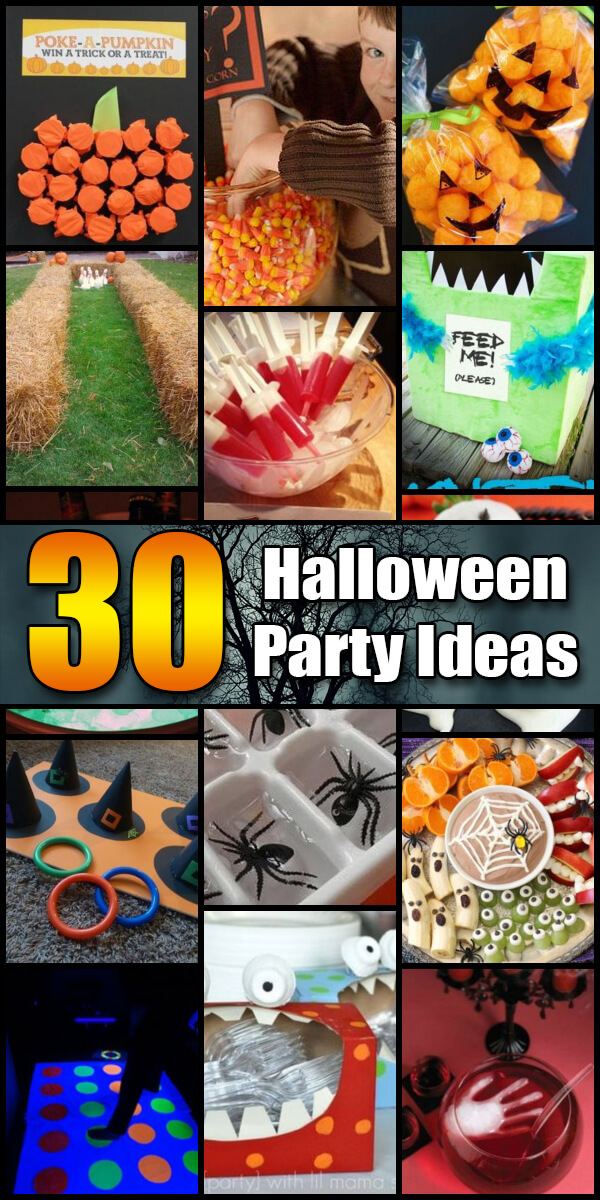 30 Awesome Halloween Party Ideas - Holiday Vault #Halloween