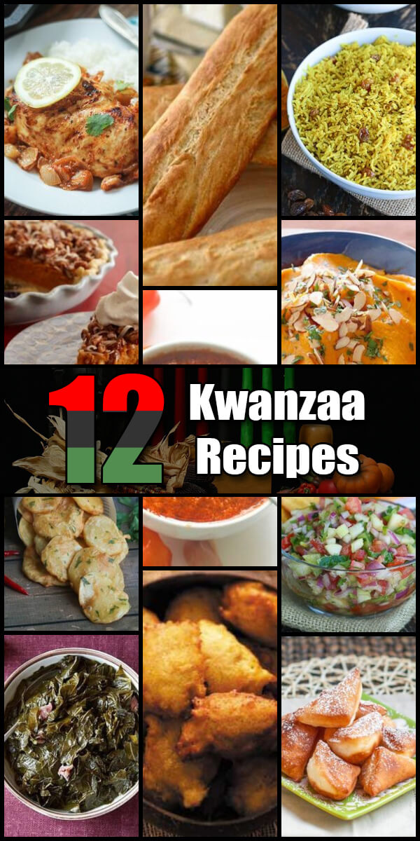 12 Delicious Kwanzaa Recipes - Holiday Vault #Kwanzaa