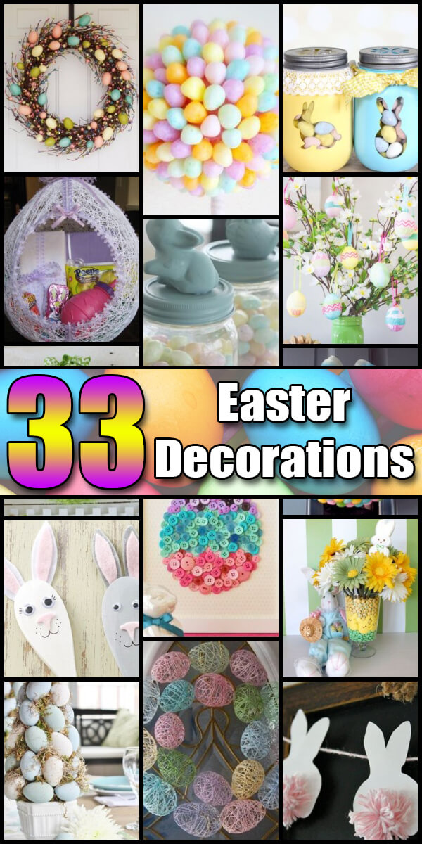 33 Heavenly Easter Decorations - Holiday Vault #Easter #EasterDecorations #EasterDecor